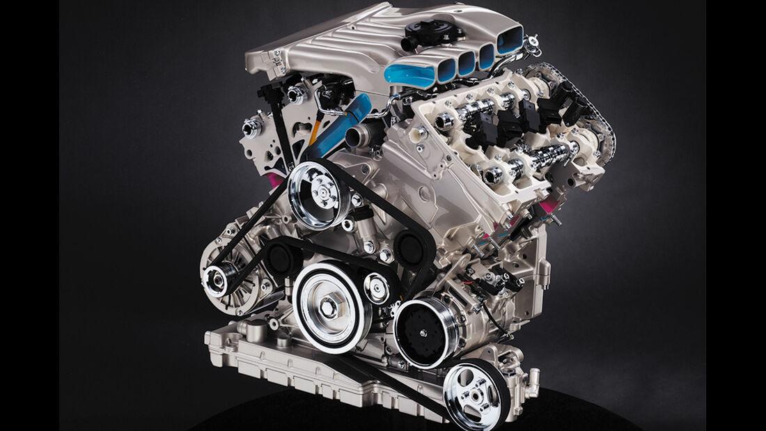 VW Passat W8 Motor