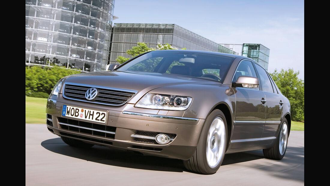 VW Phaeton 3.0 TDI, Frontansicht