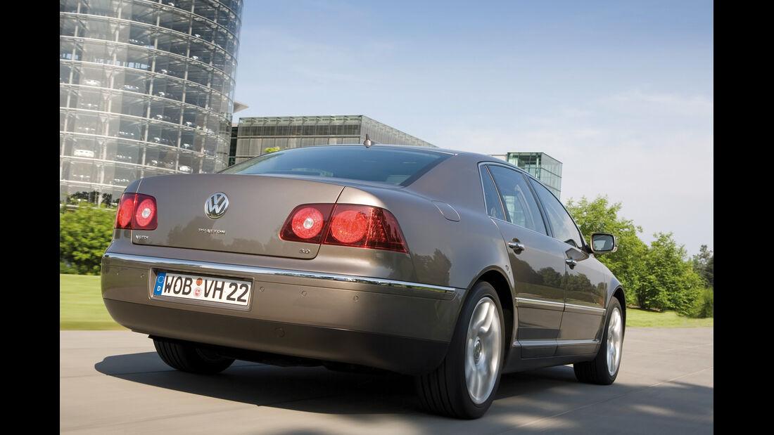 VW Phaeton 3.0 TDI, Heckansicht