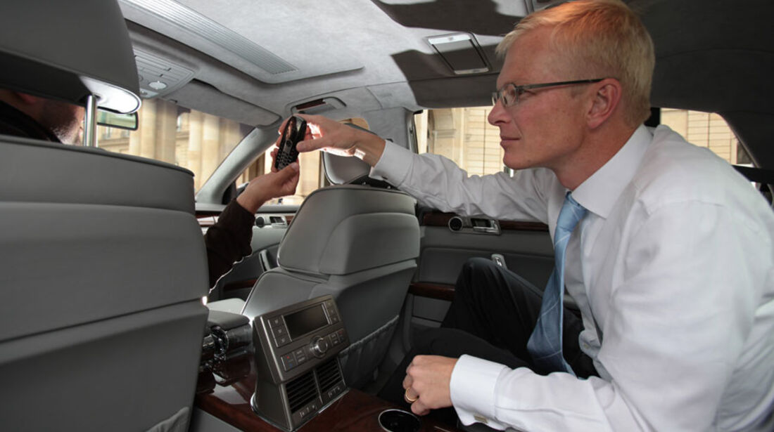 VW Phaeton, Fond