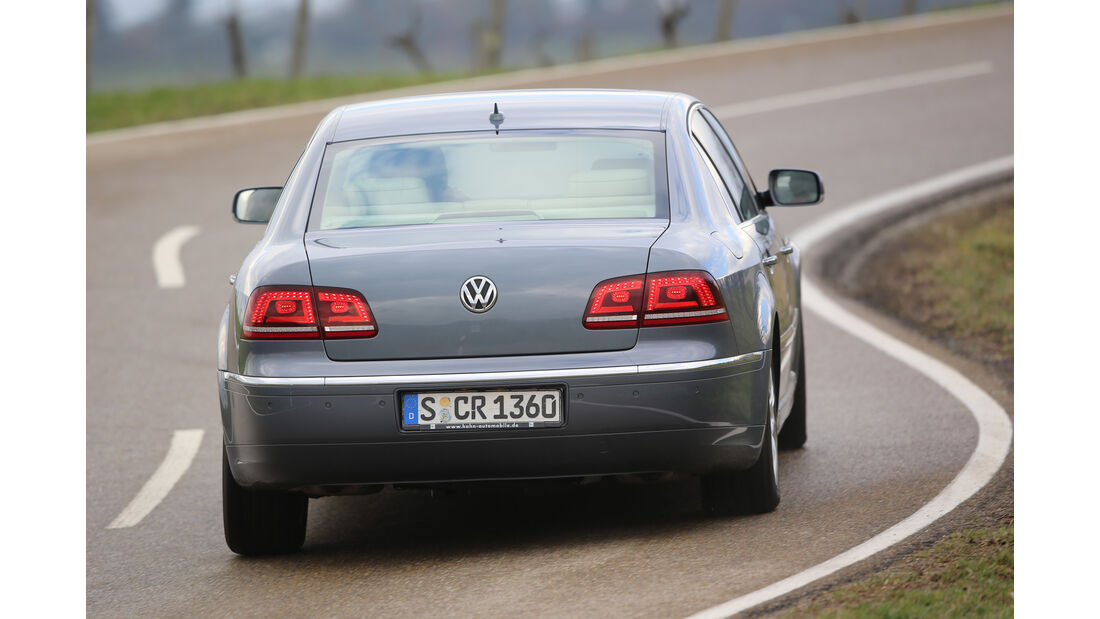 VW Phaeton, Heckansicht