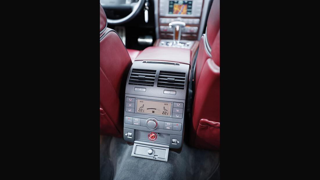 VW Phaeton, Mittelkonsole