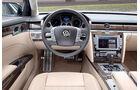 VW Phaeton, Modell 2010, Cockpit, Innenraum