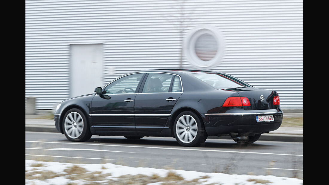 VW Phaeton, Seitenansicht