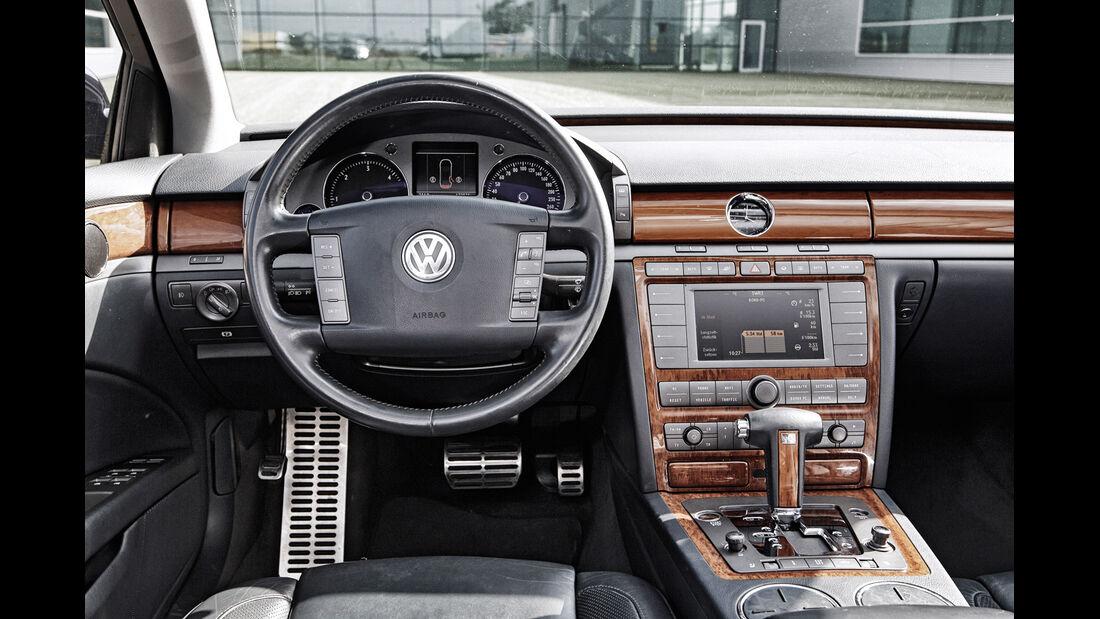 VW Phaeton V10 TDI Motion, Cockpit