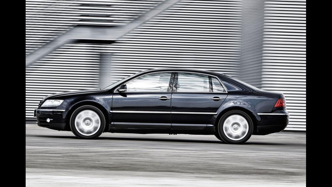 VW Phaeton V10 TDI Motion, Seitenansicht