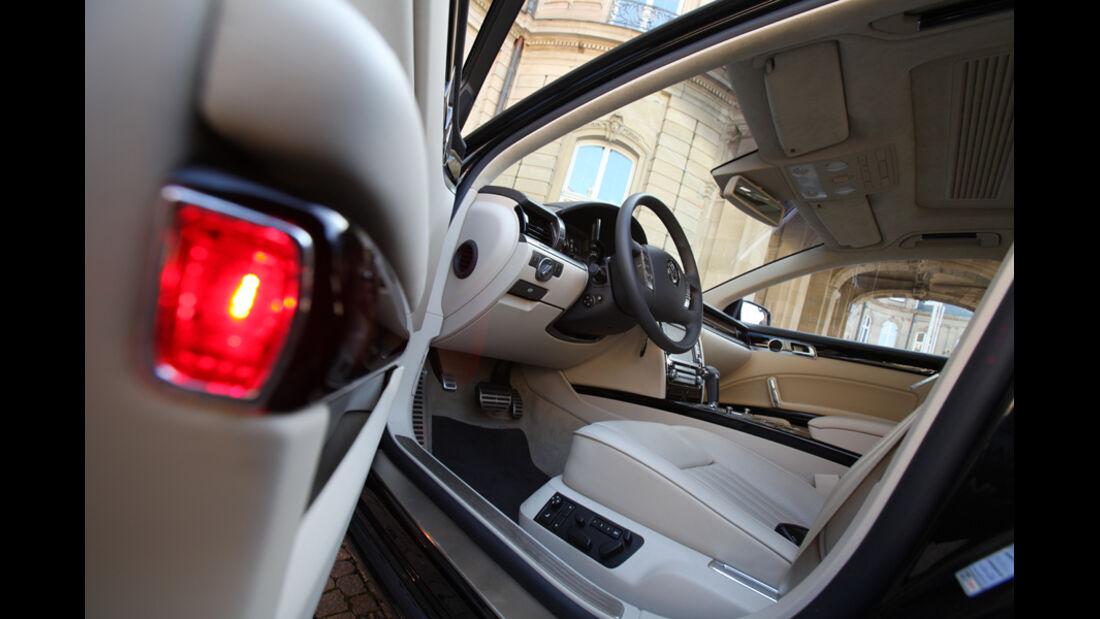 VW Phaeton V6 TDI, Innenraum