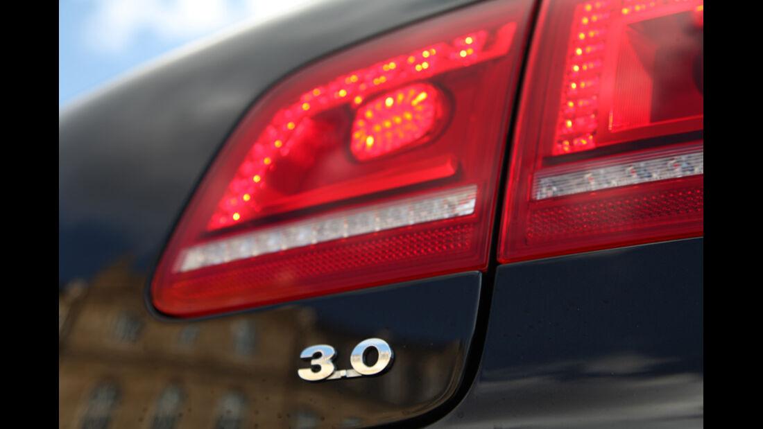 VW Phaeton V6 TDI, Rücklicht
