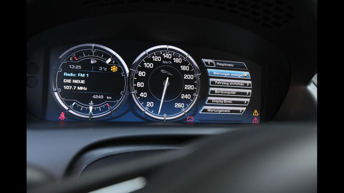VW Phaeton V6 TDI, Rundinstrumente