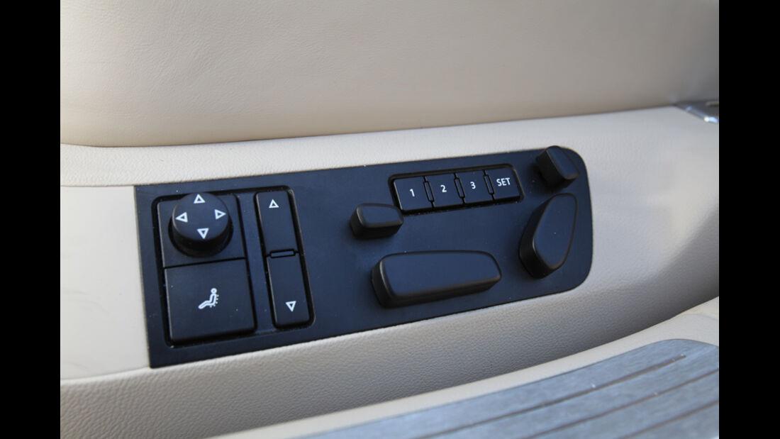VW Phaeton V6 TDI, Sitzsteuerung