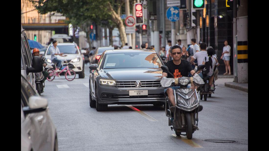 VW Phideon in Shanghai