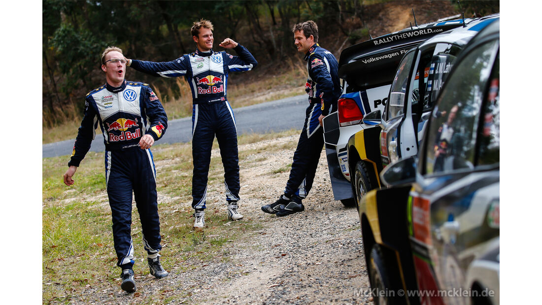 VW-Piloten - Rallye Australien 2015