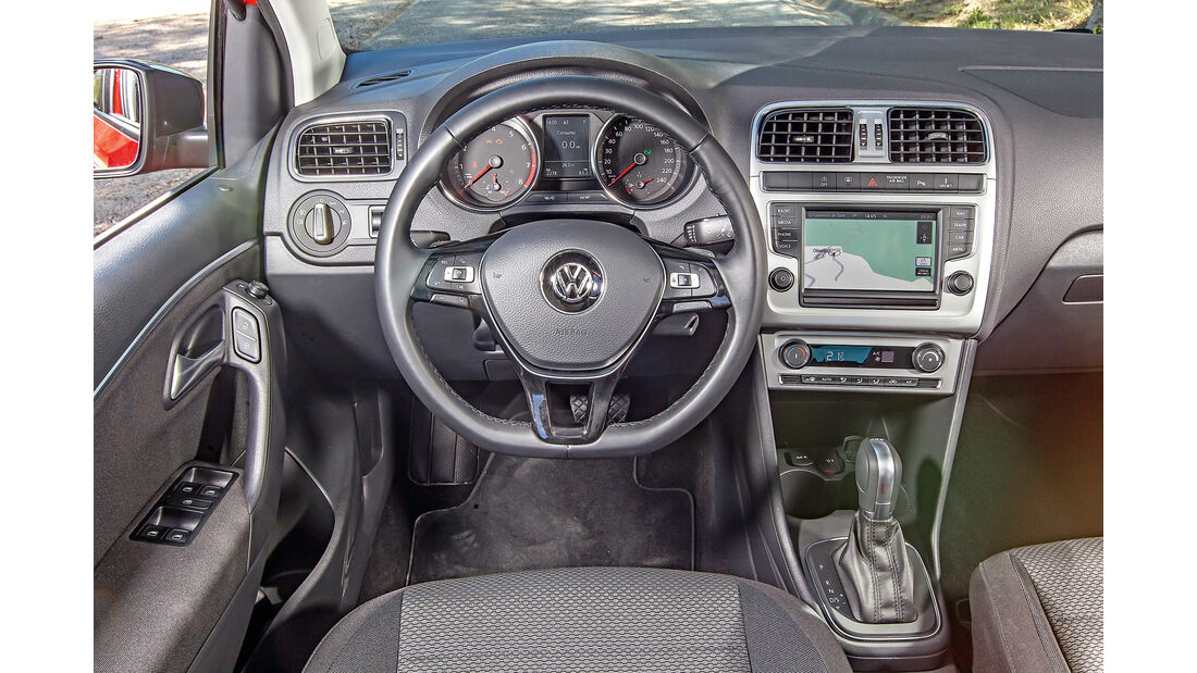VW Polo 1.0 TSI, Cockpit