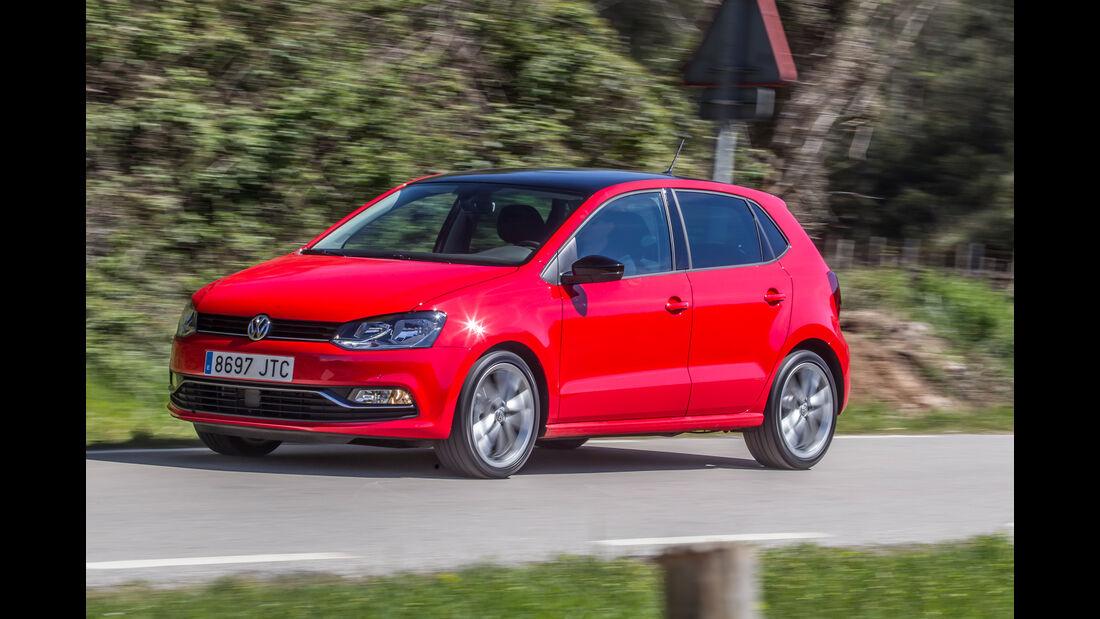 VW Polo 1.0 TSI, Frontansicht