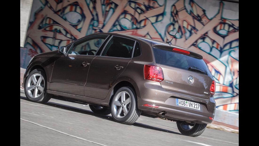 VW Polo 1.0 TSI, Heckansicht