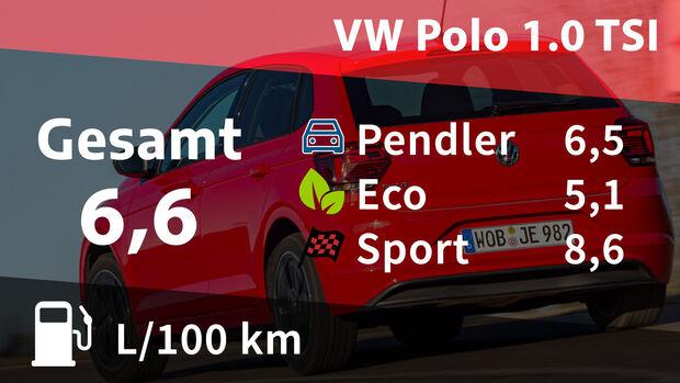 VW Polo 1.0 TSI Kosten Realverbrauch