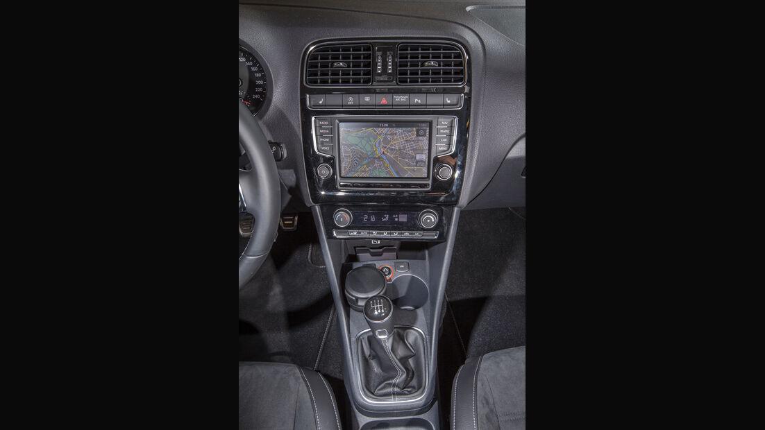 VW Polo 1.0 TSI, Mittelkonsole