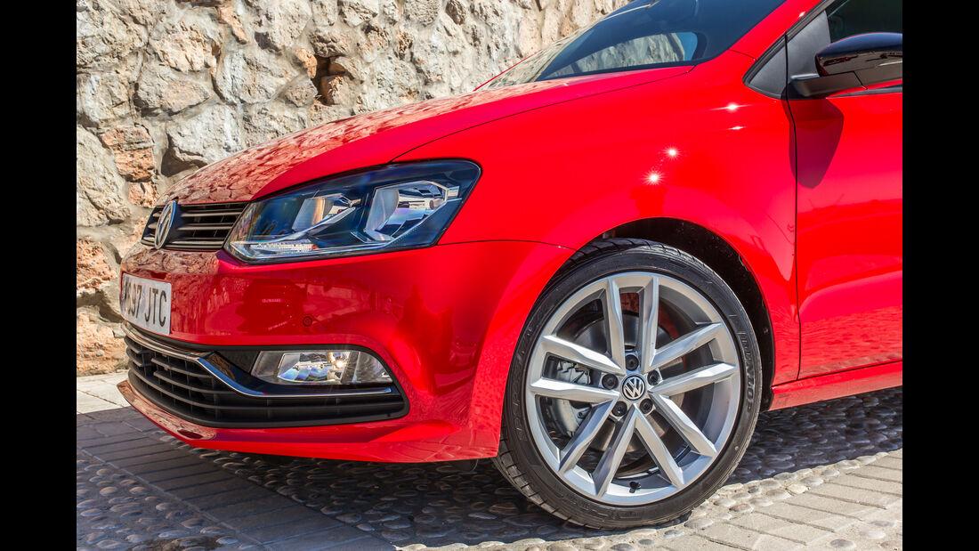 VW Polo 1.0 TSI, Rad, Felge