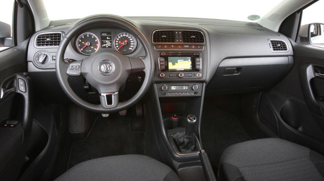 VW Polo 1.2 BMT, Cockpit