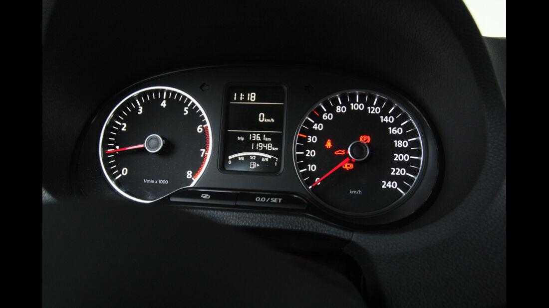 VW Polo 1.2 BMT, Rundinstrumente