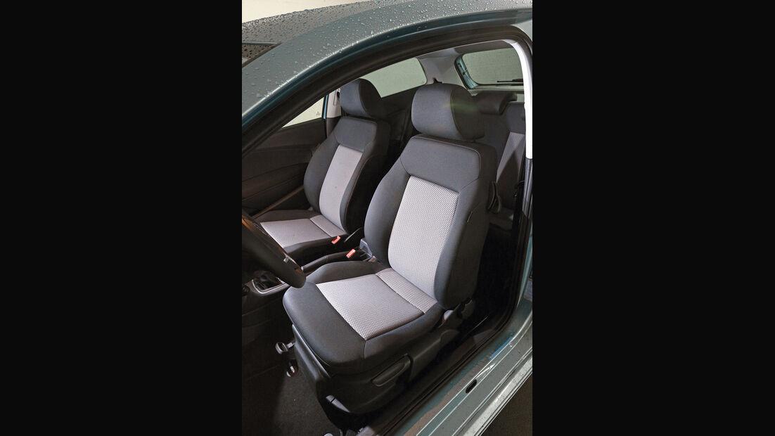 VW Polo 1.2 TDI Blue Motion 87G, Fahrersitz