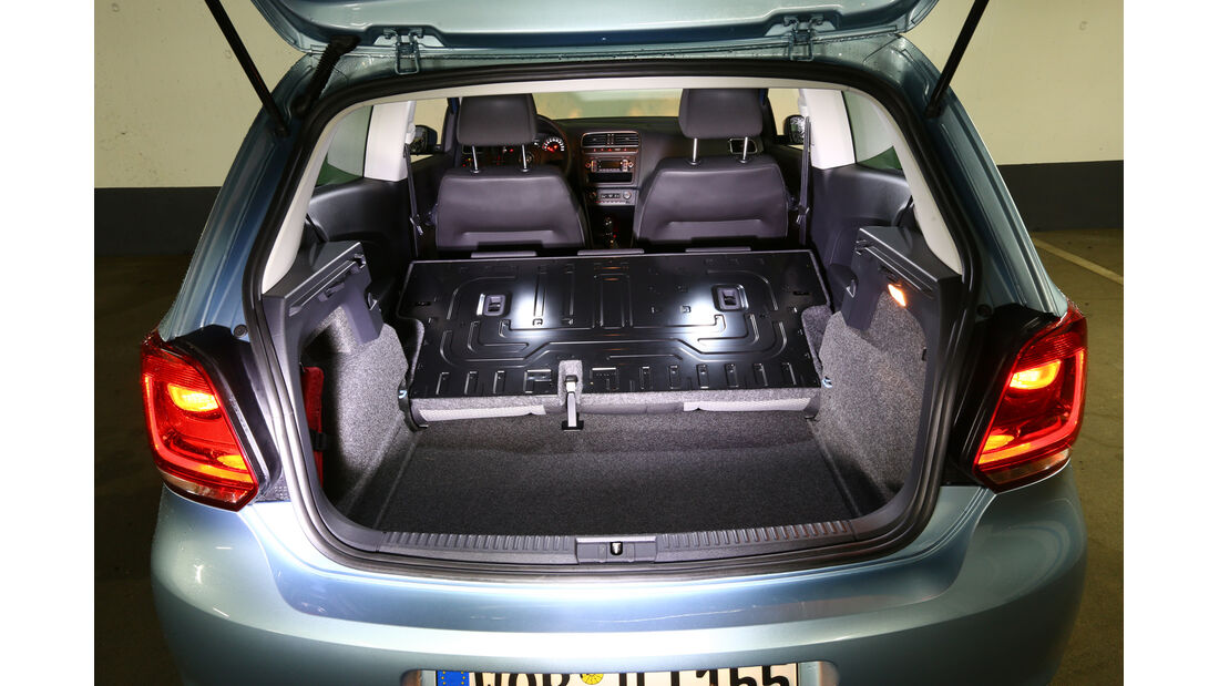 VW Polo 1.2 TDI Blue Motion 87G, Kofferraum