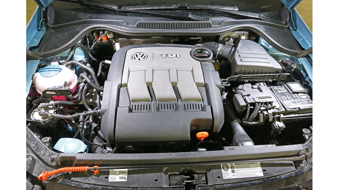 VW Polo 1.2 TDI Blue Motion 87G, Motor