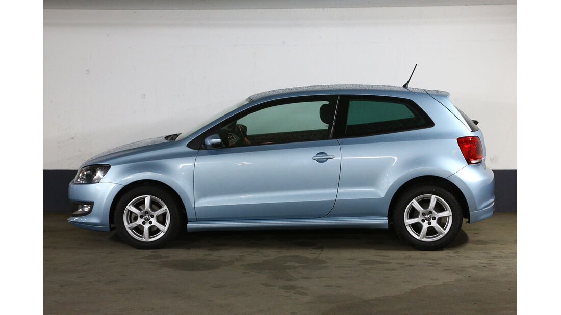 VW Polo 1.2 TDI Blue Motion 87G, Seitenansicht