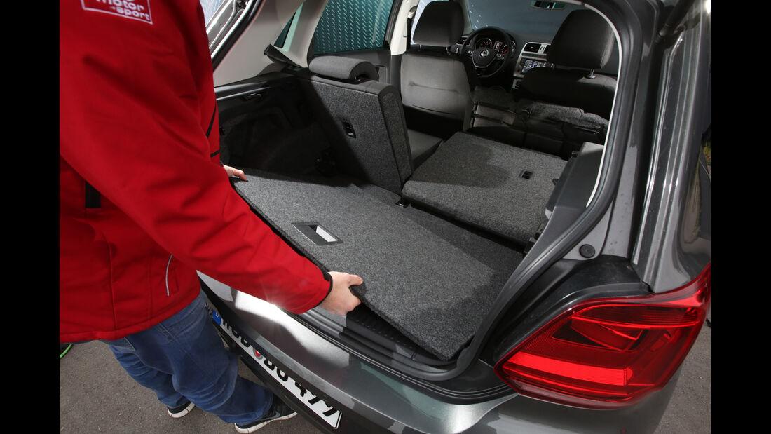 VW Polo 1.2 TSI BMT, Ablagefach