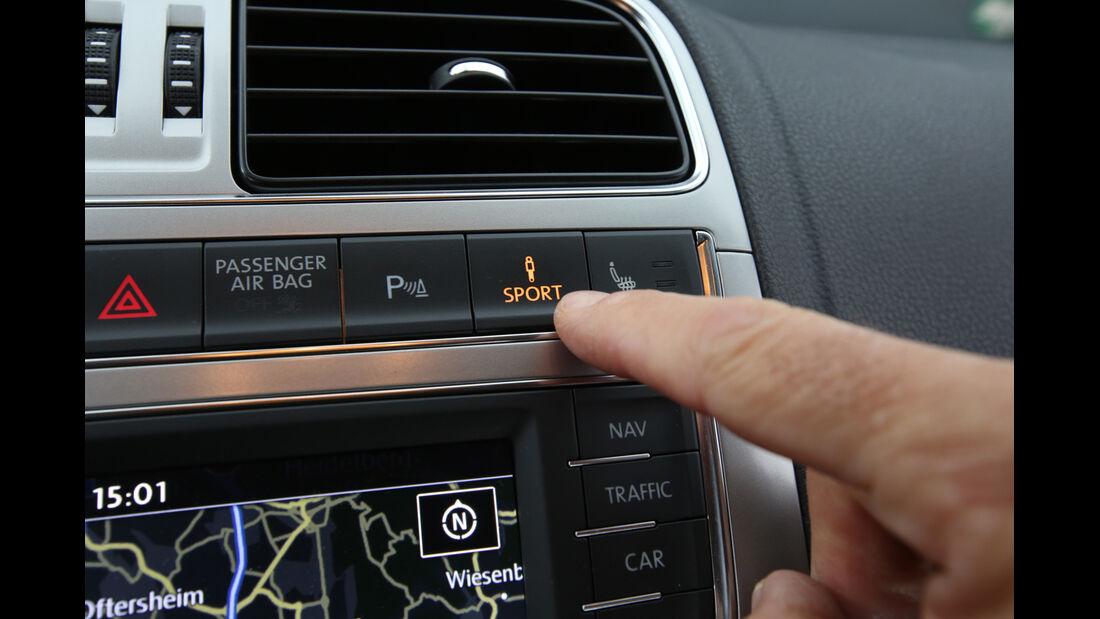 VW Polo 1.2 TSI BMT, Bedienelement