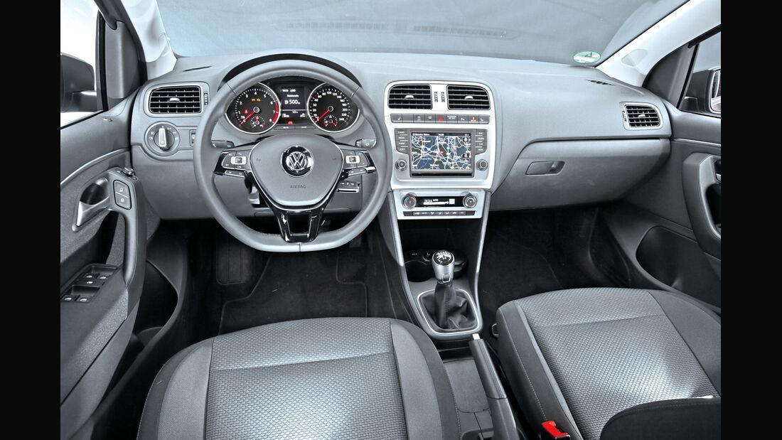 VW Polo 1.2 TSI BMT, Cockpit