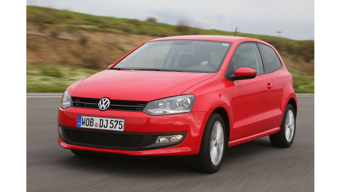 VW Polo 1.2 TSI BMT, Frontansicht