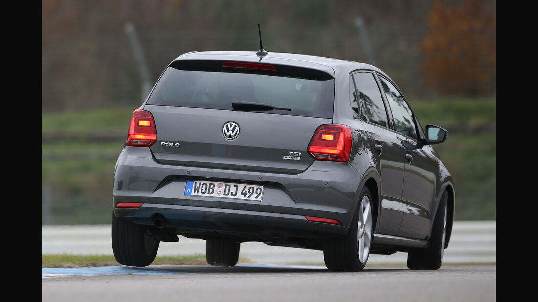 VW Polo 1.2 TSI BMT, Heckansicht