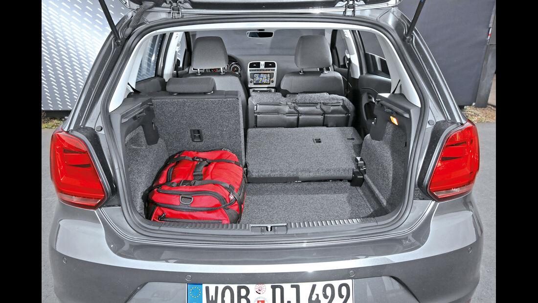 VW Polo 1.2 TSI BMT, Kofferraum