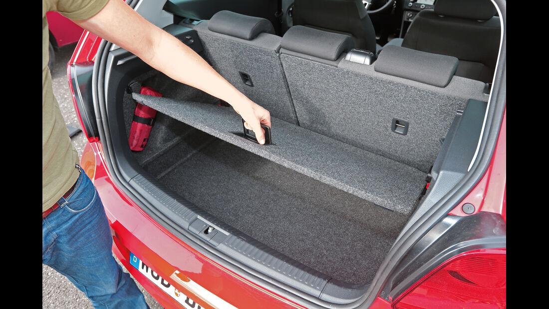 VW Polo 1.2 TSI BMT, Kofferraum, Zwischenboden