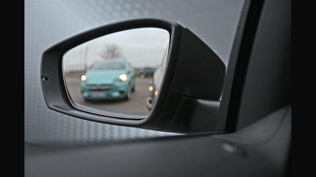 VW Polo 1.2 TSI BMT, Seitenspiegel