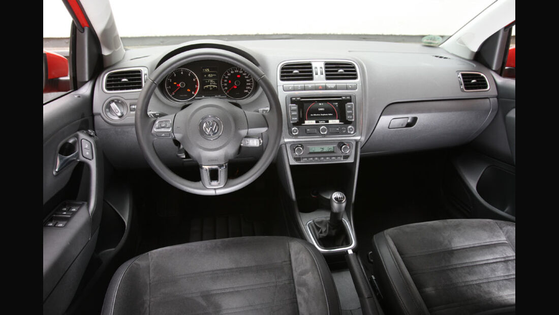 VW Polo 1.2 TSI, Cockpit