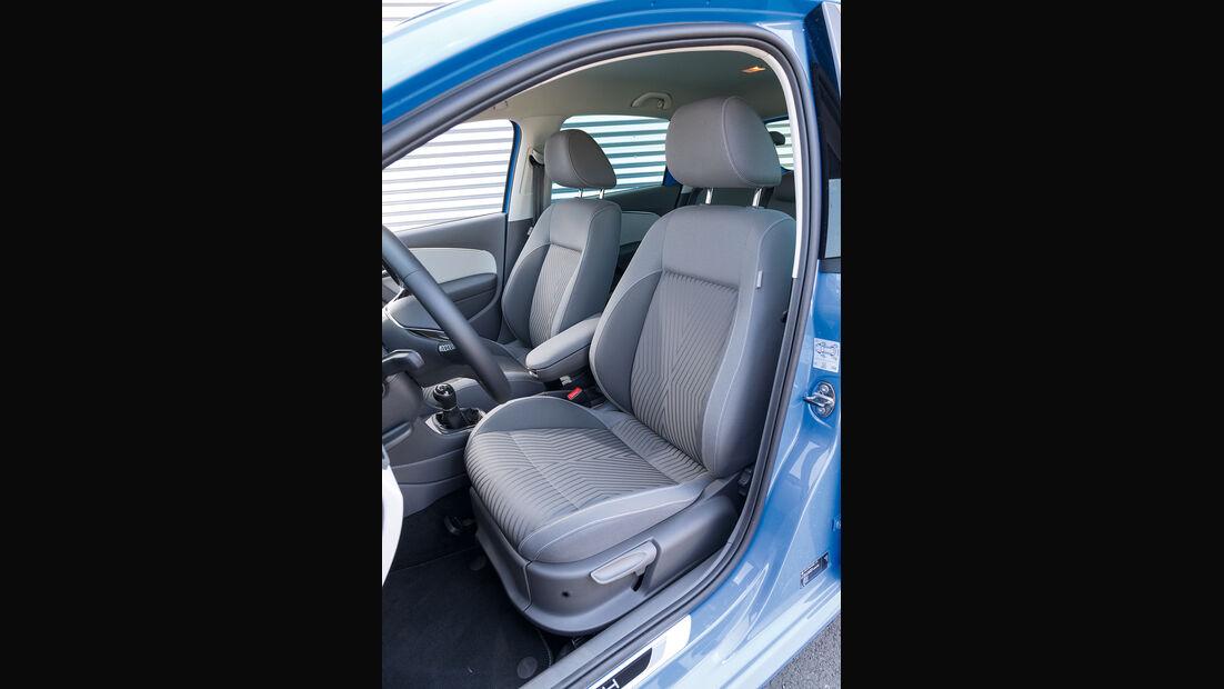 VW Polo 1.2 TSI, Fahrersitz