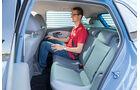 VW Polo 1.2 TSI, Fondsitz, Beinfreiheit