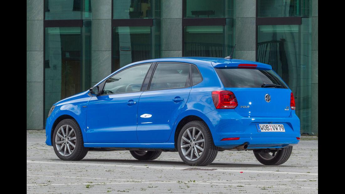 VW Polo 1.2 TSI, Heckansicht