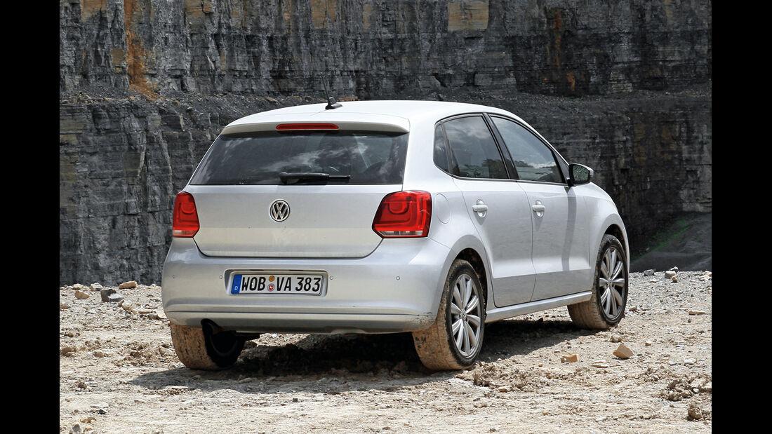 VW Polo 1.2 TSI, Heckanssicht