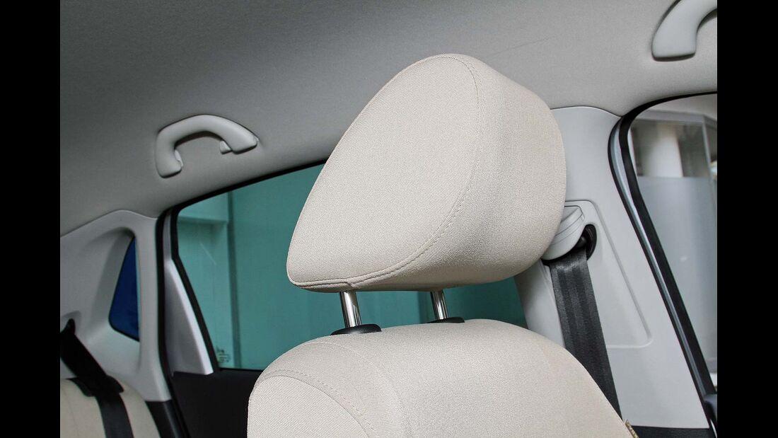 VW Polo 1.2 TSI, Kopfstütze
