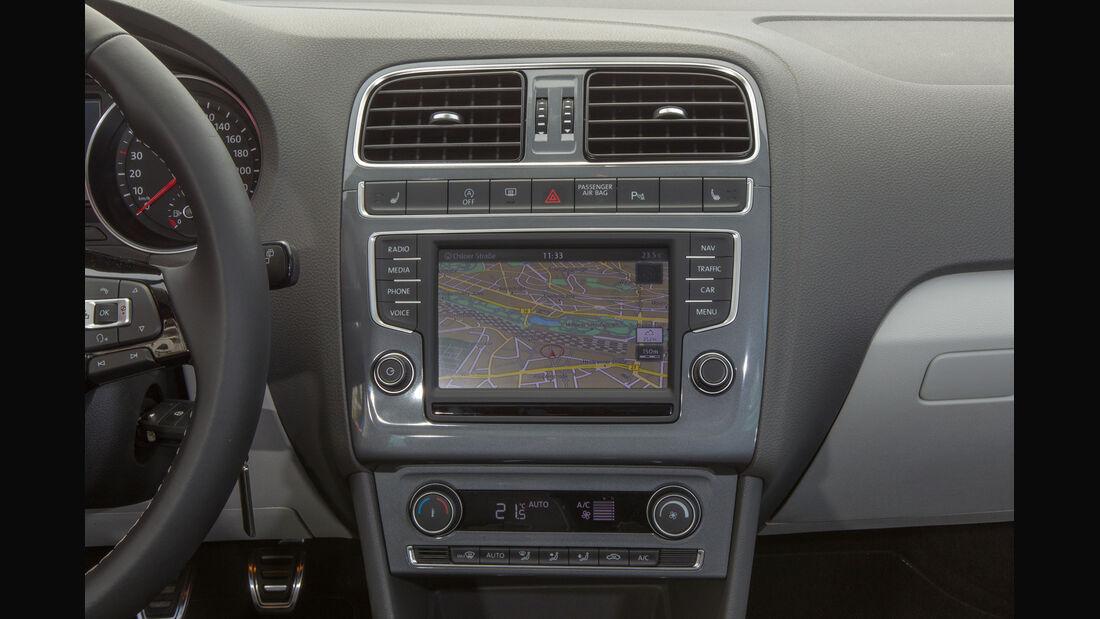 VW Polo 1.2 TSI, Mittelkonsole