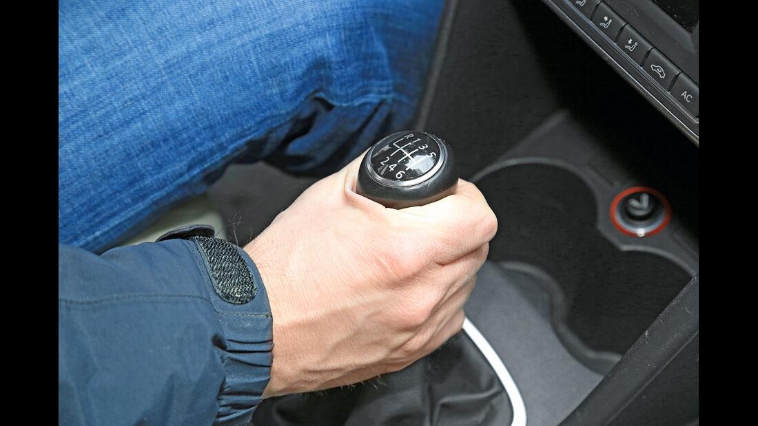 VW Polo 1.2 TSI, Schalthebel