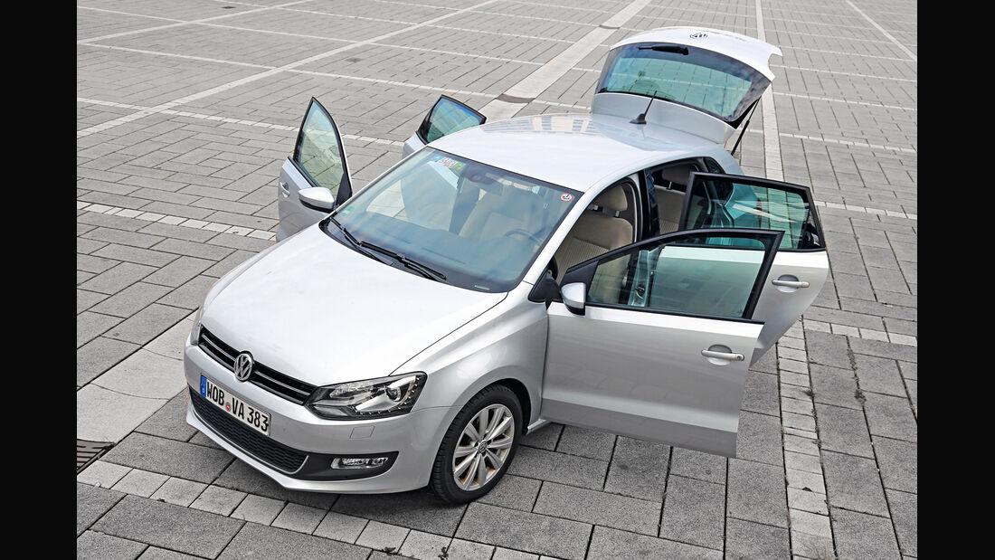 VW Polo 1.2 TSI, Türen offen