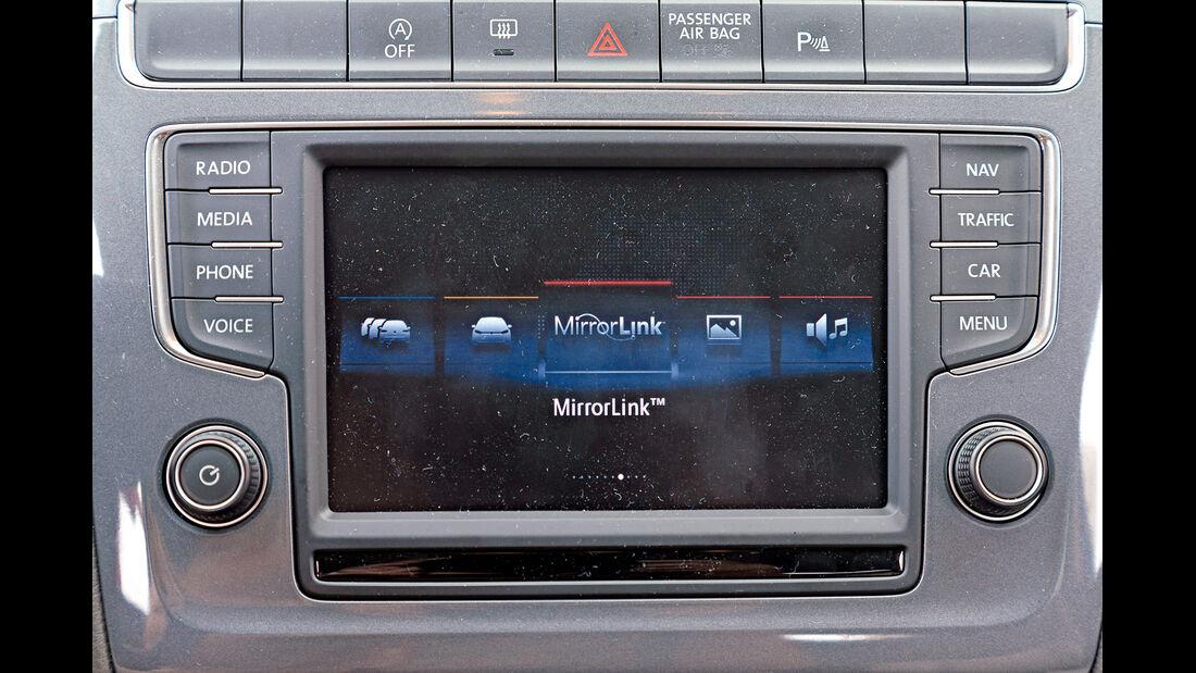 VW Polo 1.4 TDI Blue Motion, Bildschrim, Infotainment