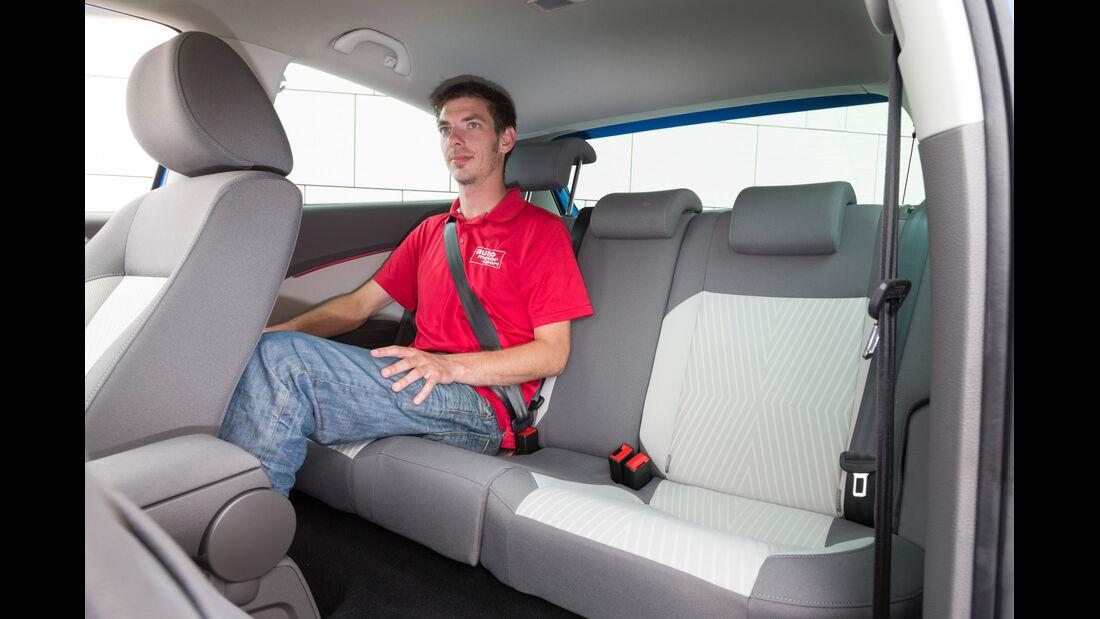 VW Polo 1.4 TDI Blue Motion, Fondsitz, Beinfreiheit
