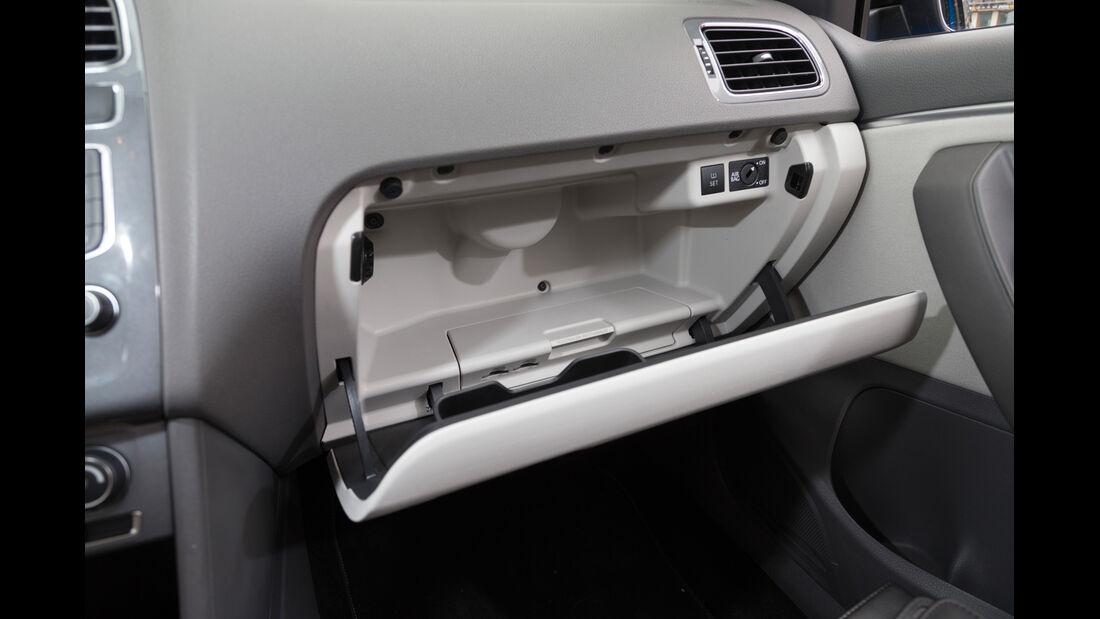 VW Polo 1.4 TDI Blue Motion, Handschuhfach