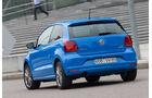 VW Polo 1.4 TDI Blue Motion, Heckansicht