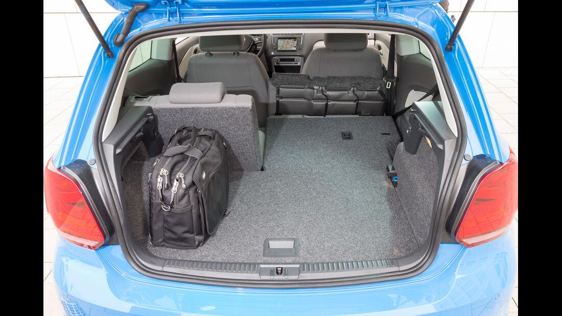 VW Polo 1.4 TDI Blue Motion, Kofferraum
